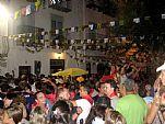 Fiestas Patronales de Peñíscola (Septiembre). Encierro por el Casco Antiguo: el ambiente que se observa lo dice todo...