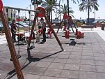 Los más pequeños disfrutan muchísimo en todos los parques infantiles que hay en la Ciudad...